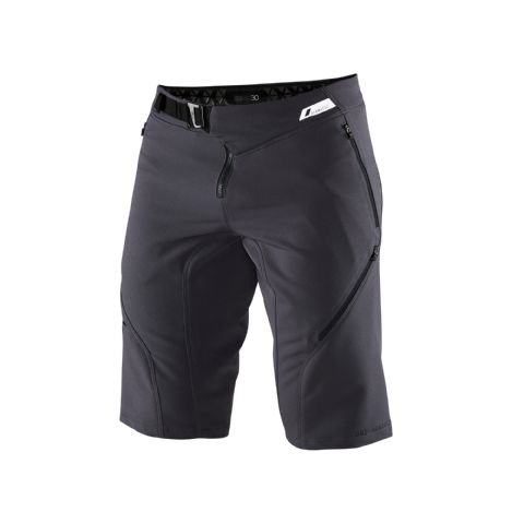 100% Airmatic Shorts Charcoal
